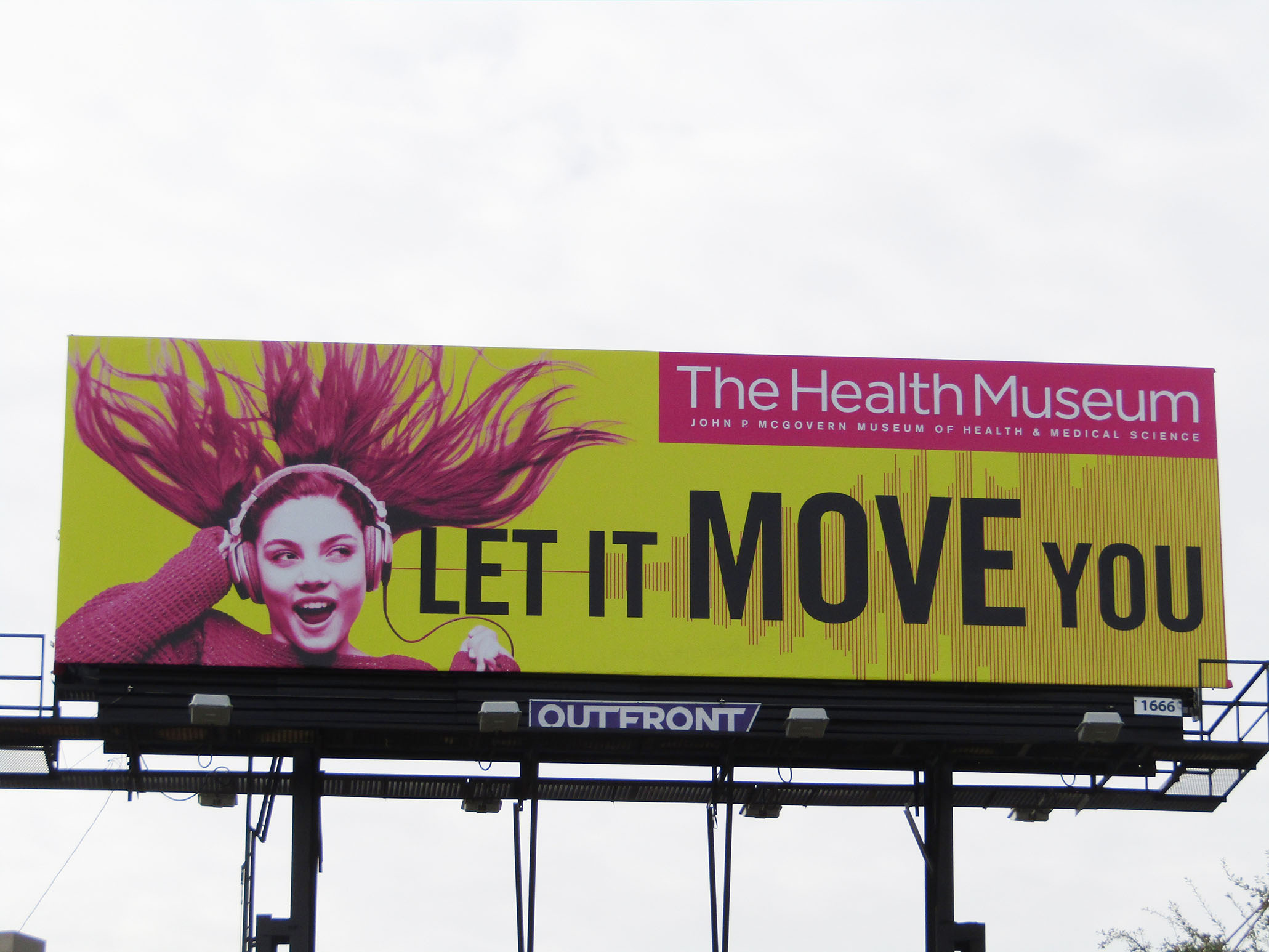 The Health Museum Billboard