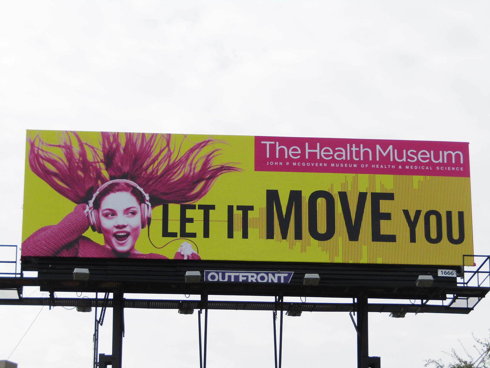 The Health Museum Billboard